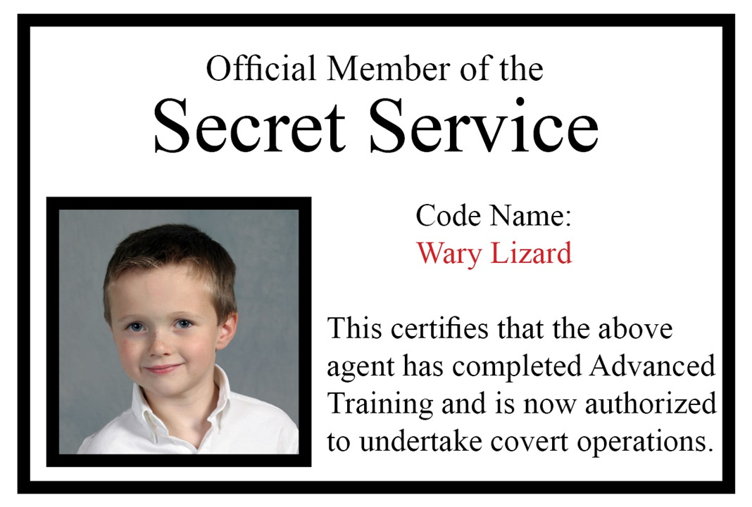 Secret    ServiceSecret Service Agents Badge