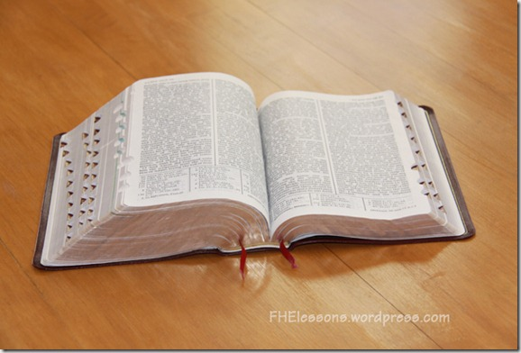 scripture study from fhelessons.wordpress.com