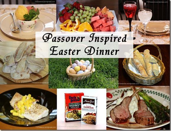 passover inspired easter dinner from fhelessons.wordpress.com