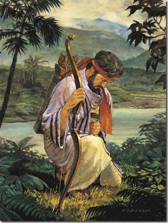 enoch-praying