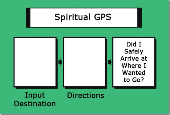 how to use spiritual GPS