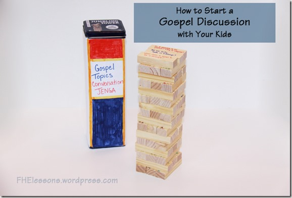 how to start a gospel discussion with your kids