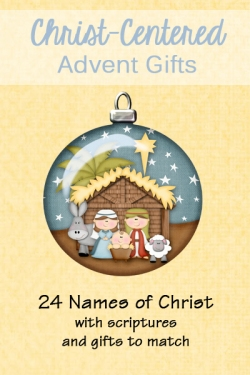 chrsit centered advent gifts