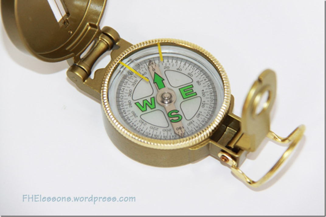 give a compass as a baptism gift