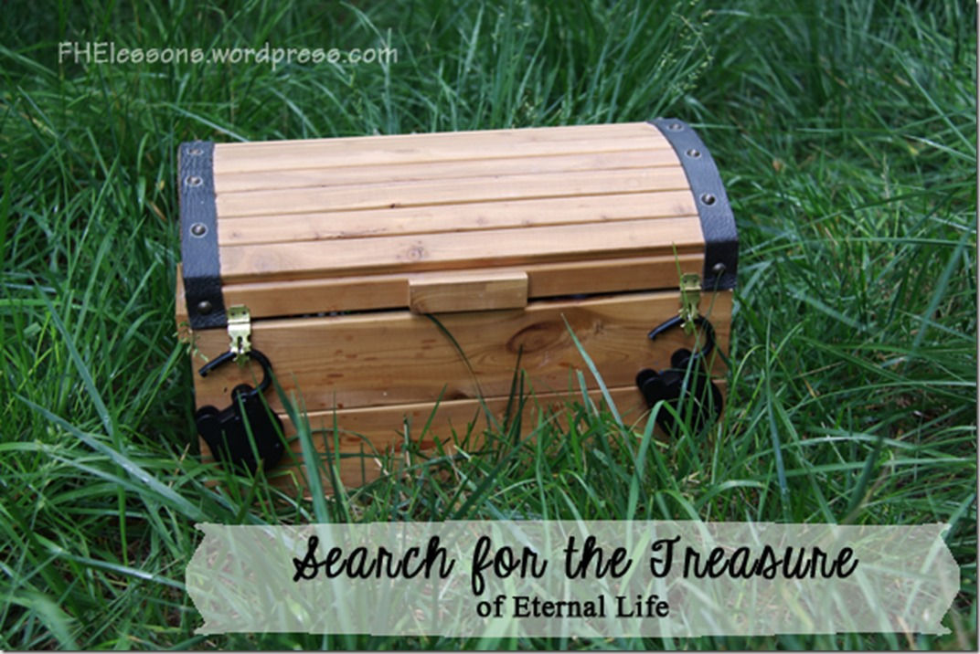 search for the treasure of eternal life