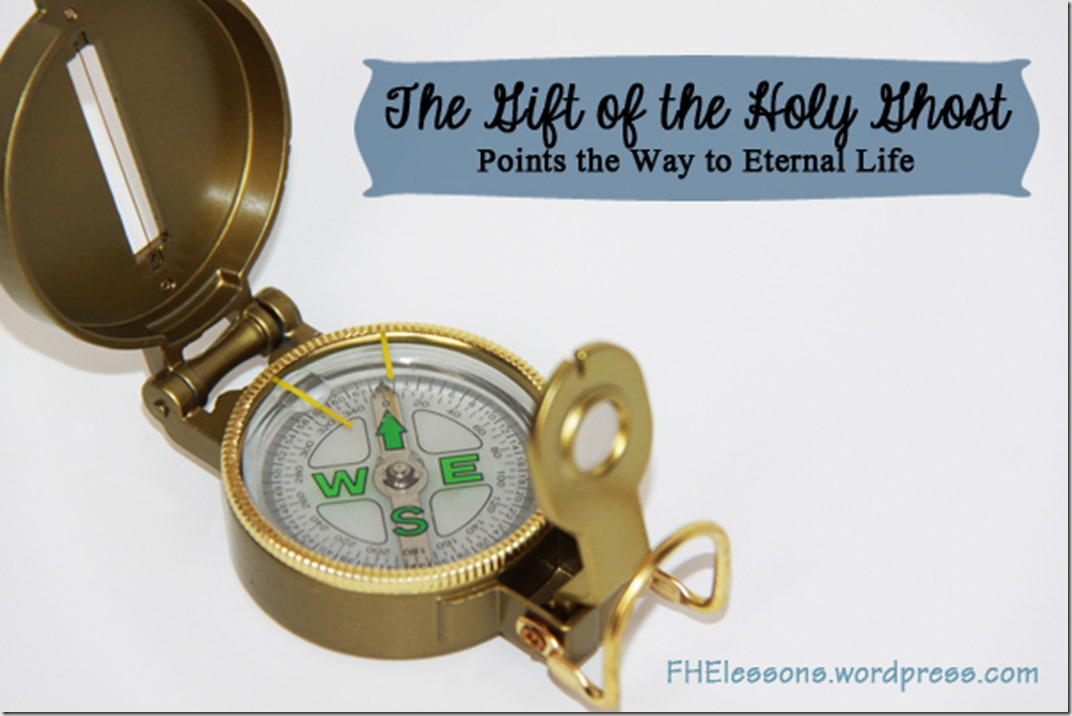 the gift of the holy ghost points the way to eternal life