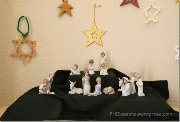 The Nativity as a visual aid for why we give good gifts at Christmas