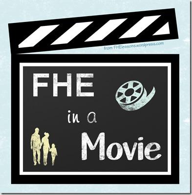 FHE in a movie chalkboard blue