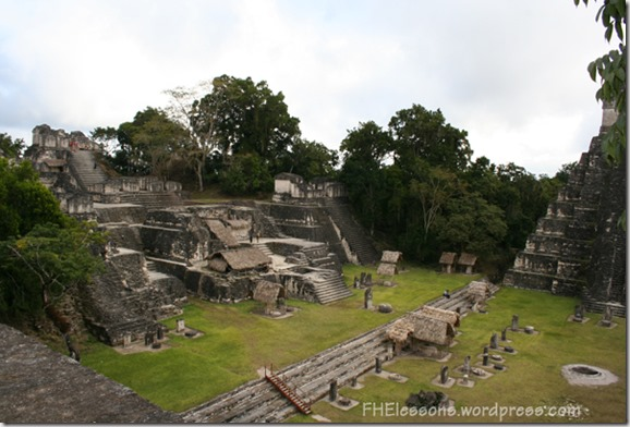 ancient ruins in central america give us an idea of Nephite cities