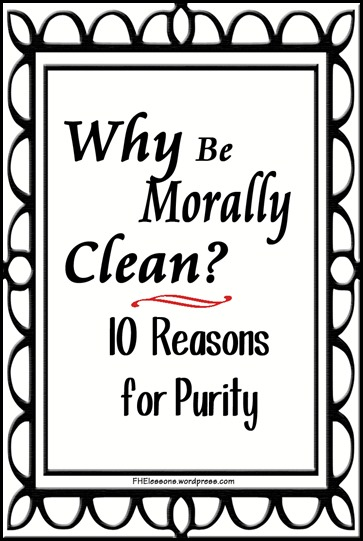 Why Be Morally Clean