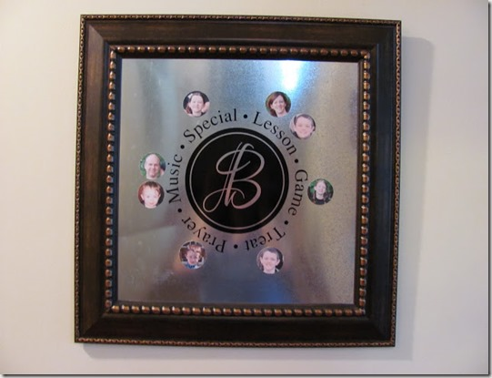 Magnetic Monogram FHE Chart from DecorAllure