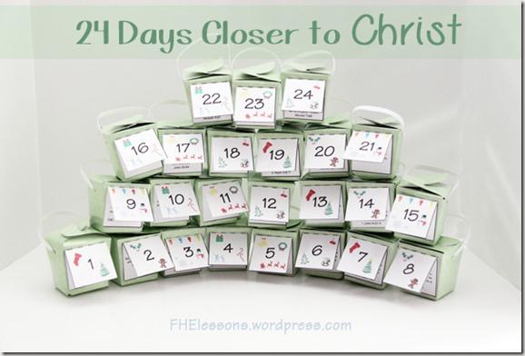 24 Days Closer to Christ