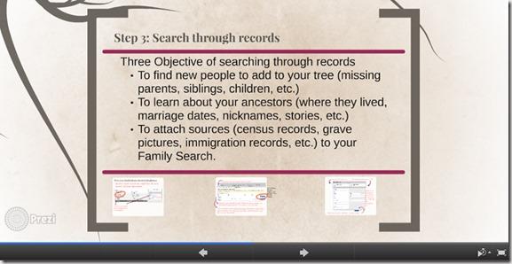 Amazing Family History tutorial