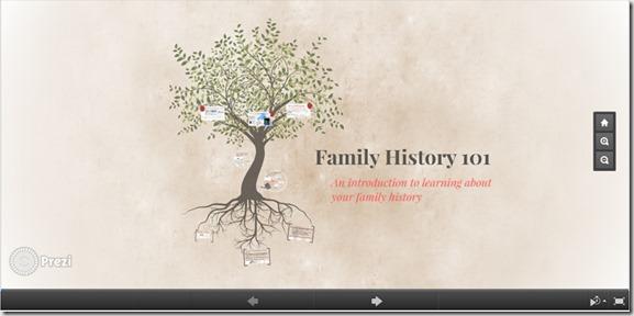 Family History Prezi