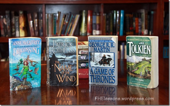 Best Fantasy Books from FHElessons.wordpress.com