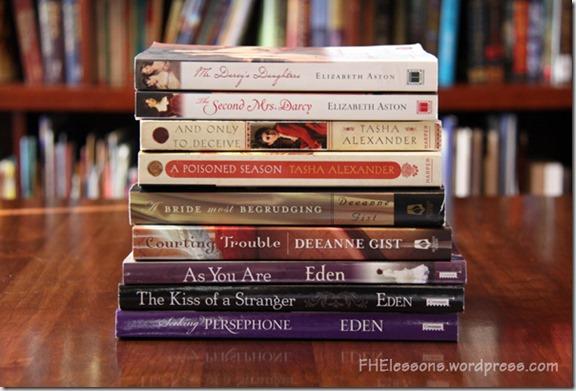 Best Romance Books from FHElessons.wordpress.com