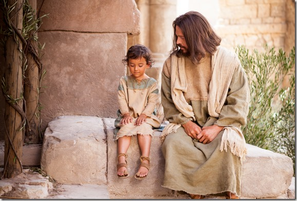 pictures-of-jesus-with-a-child-1127679-print